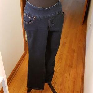 JAGJEANS 18w no zip , stretch waist good looking!